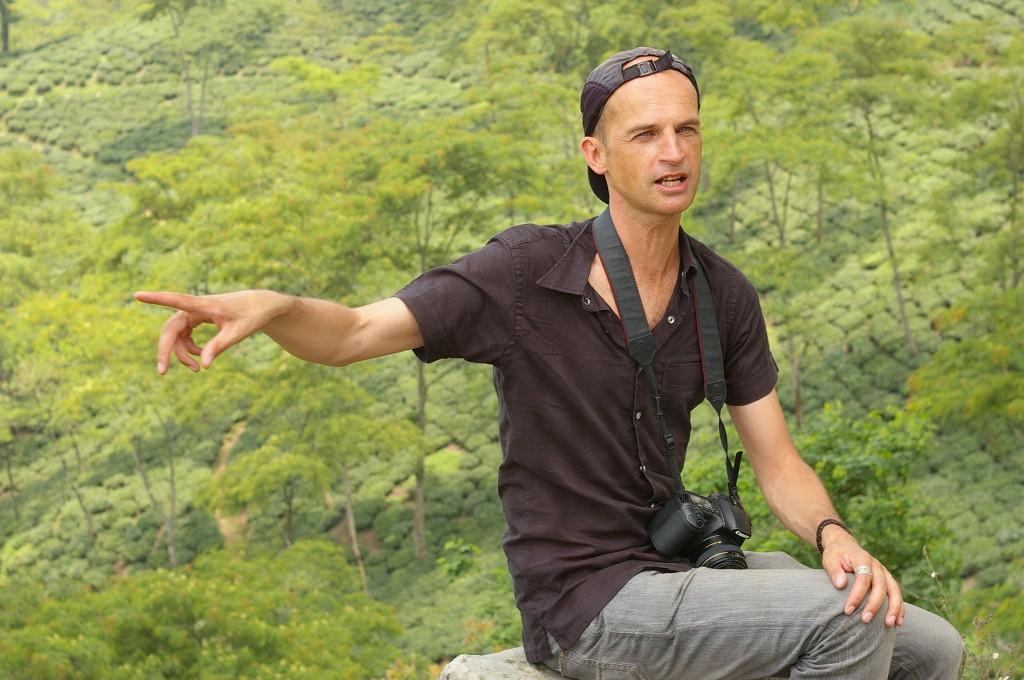François-Xavier Delmas à Darjeeling