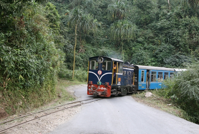 Le petit train de Darjeeling
