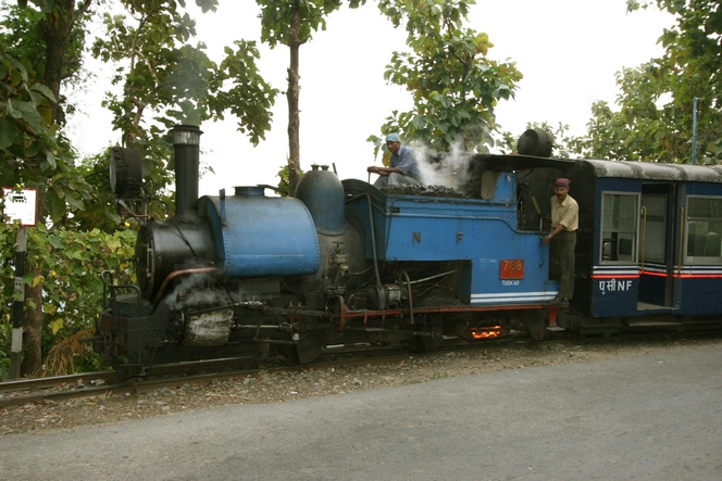 Le «Toy Train» reliant Jalpaiguri à Darjeeling