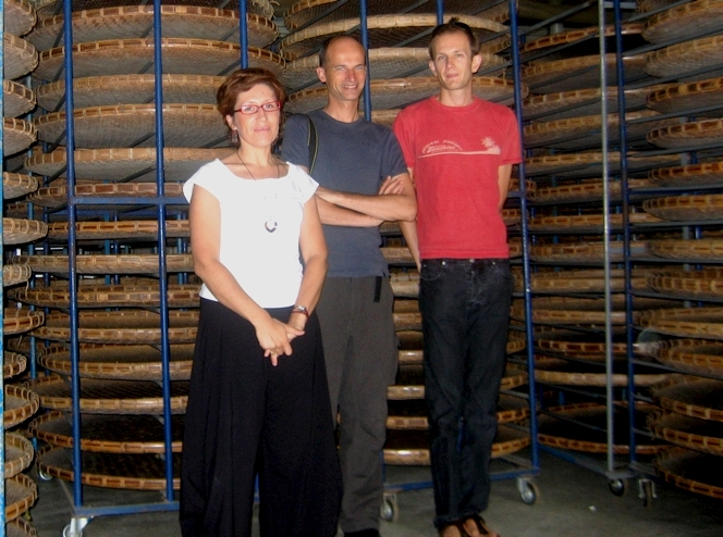 Mes compagnons chercheurs de thé, Carine et Mathias