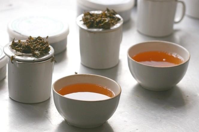 A Barnesbeg, comme ailleurs, je prends le temps du thé
