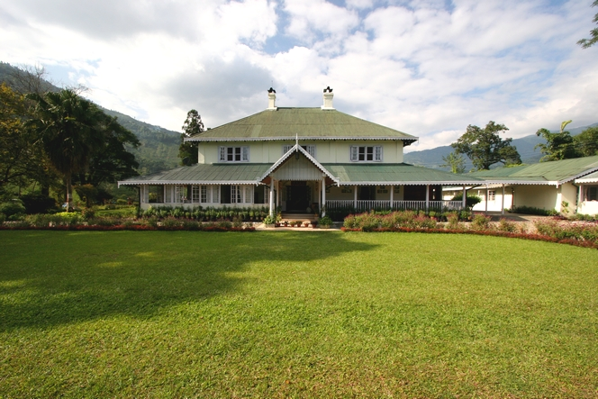 A Tumsong Tea Estate : un merveilleux bungalow