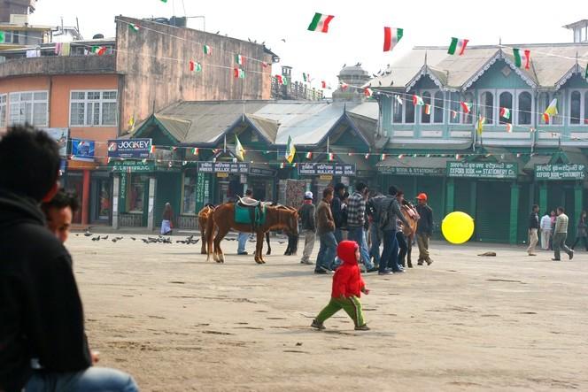 Chowrasta, le cœur de Darjeeling.