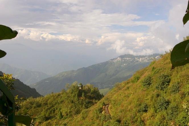 Le Kanchenjunga surplombe Darjeeling.
