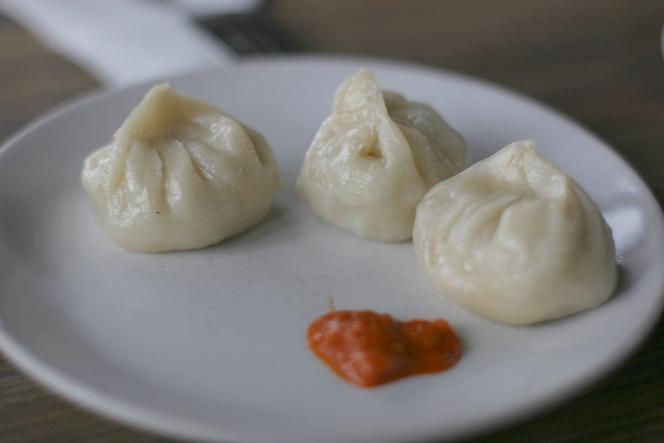 A Darjeeling, les momos sont l'un de mes plats préférés