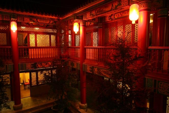 Maison de thé à Kunming.