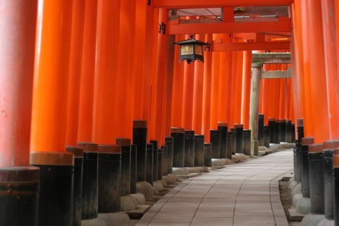 Sanctuaire « Fushimi Inari-Taisha », Kyoto.