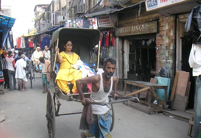 Dans les rues de Kolkata (Calcutta).