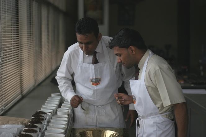 Dégustation de thé avec Dilan et Vidusha