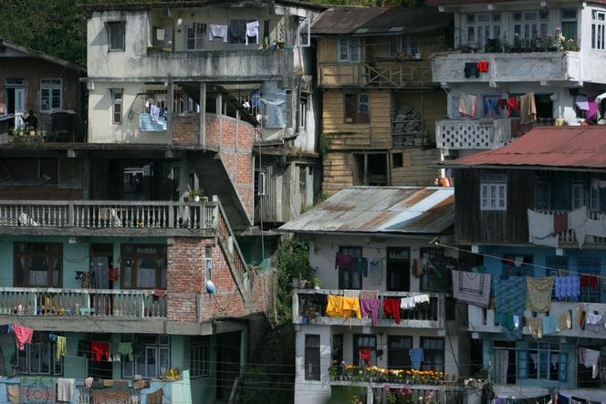 Darjeeling est sur une zone à forte activité sismique