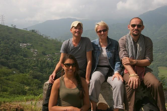 Une équipe du Palais des Thés à Darjeeling