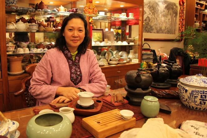 Yabo cha fang : une maison de thé à Hong Kong