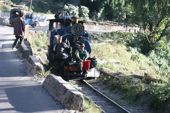 Le train de Darjeeling peut circuler sans wagons