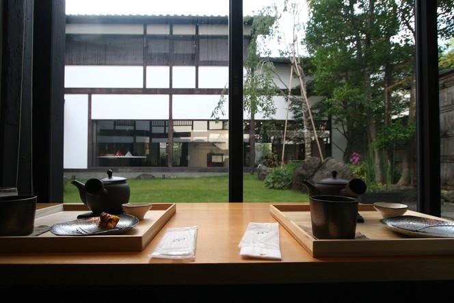 The zen kashoin tea room in kyoto discovering tea for Salon de the japonais paris