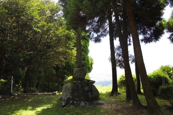 Une stèle qui mérite le détour sur l'île de Kyushu