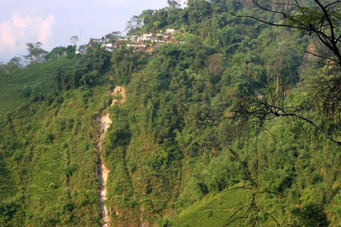 Inde : la pluie provoque des glissements de terrain