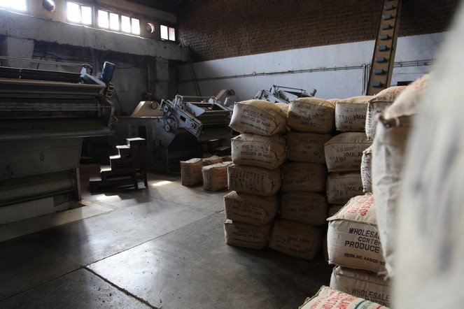 L'odeur des manufactures de thé