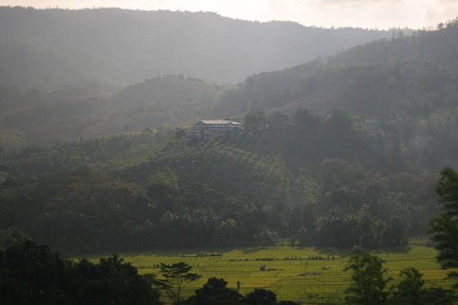 Magnifique paysage du Sri Lanka
