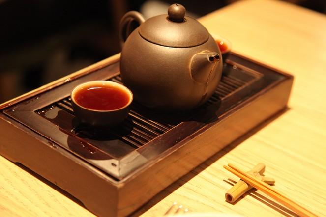 Cuisine et thé