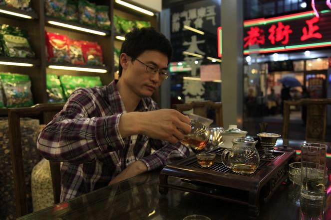 Engouement pour le thé noir en Chine