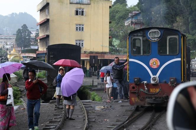 Le petit train de Darjeeling est sur le départ !