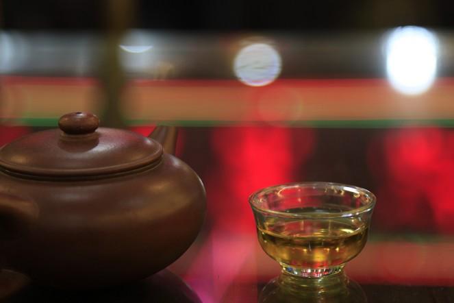 Thé du soir en Chine