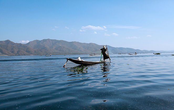 Lac Inle (Myanmar)