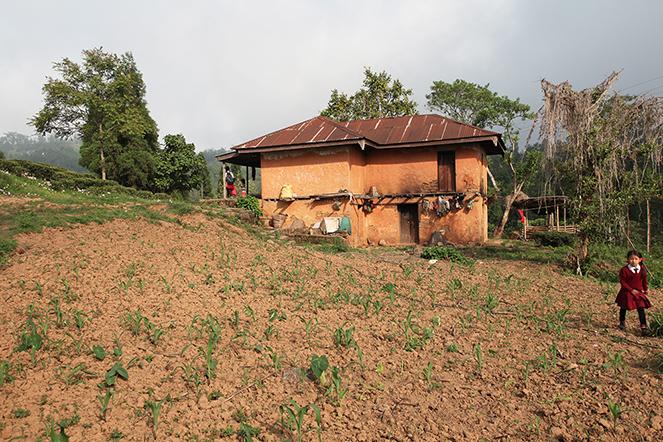Une ferme isolée, au bout du monde