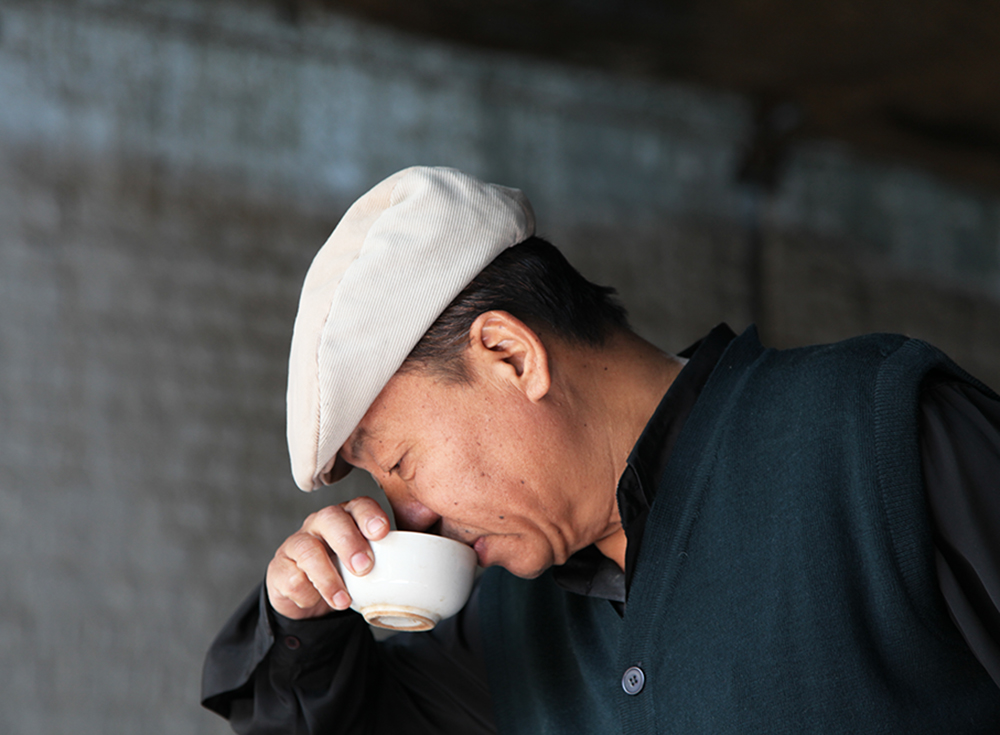 la dégustation du thé