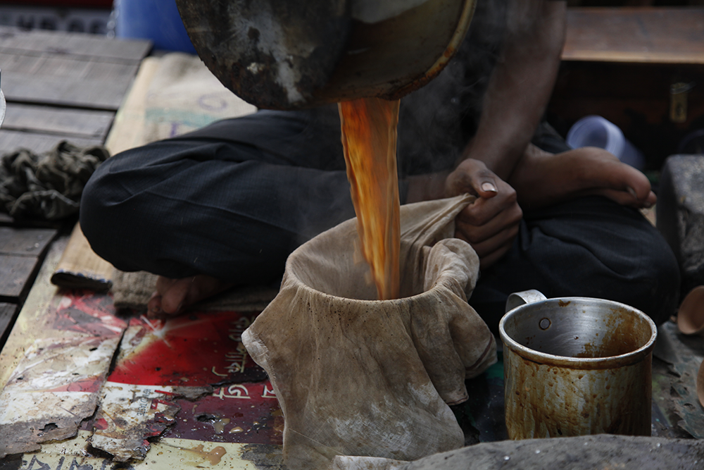 Marchand de Chaï à Kolkata