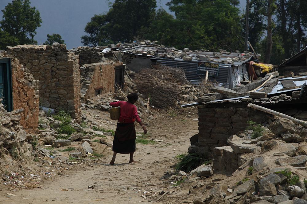 Une pensée pour le Népal