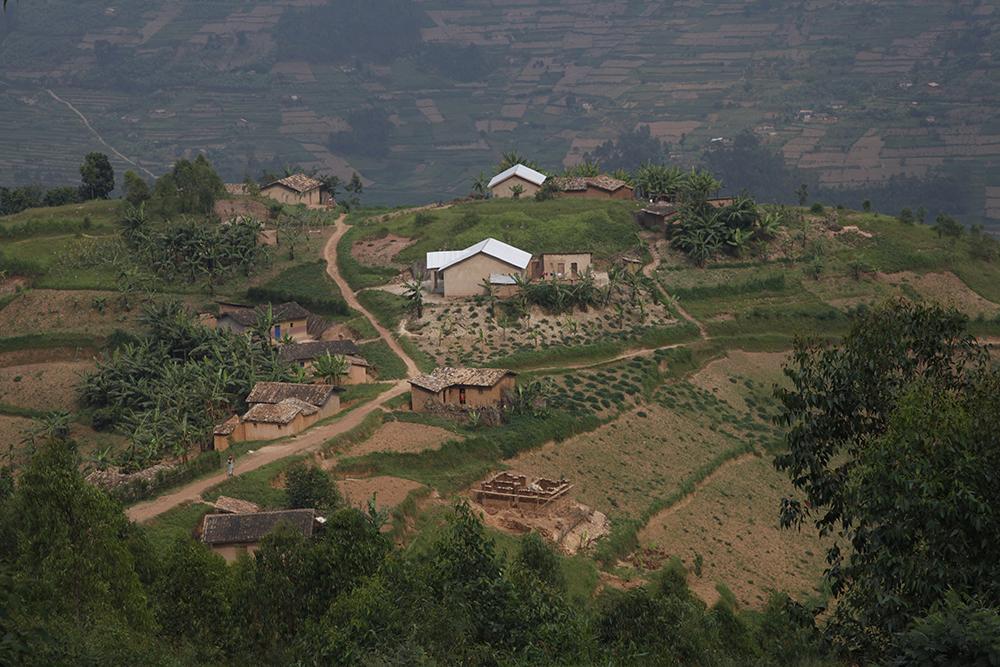 Un village au Rwanda