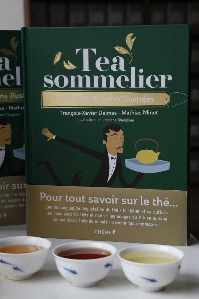 Tea sommelier, le livre