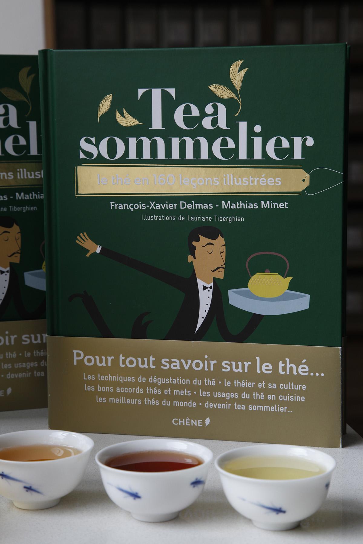 «Tea sommelier», le livre