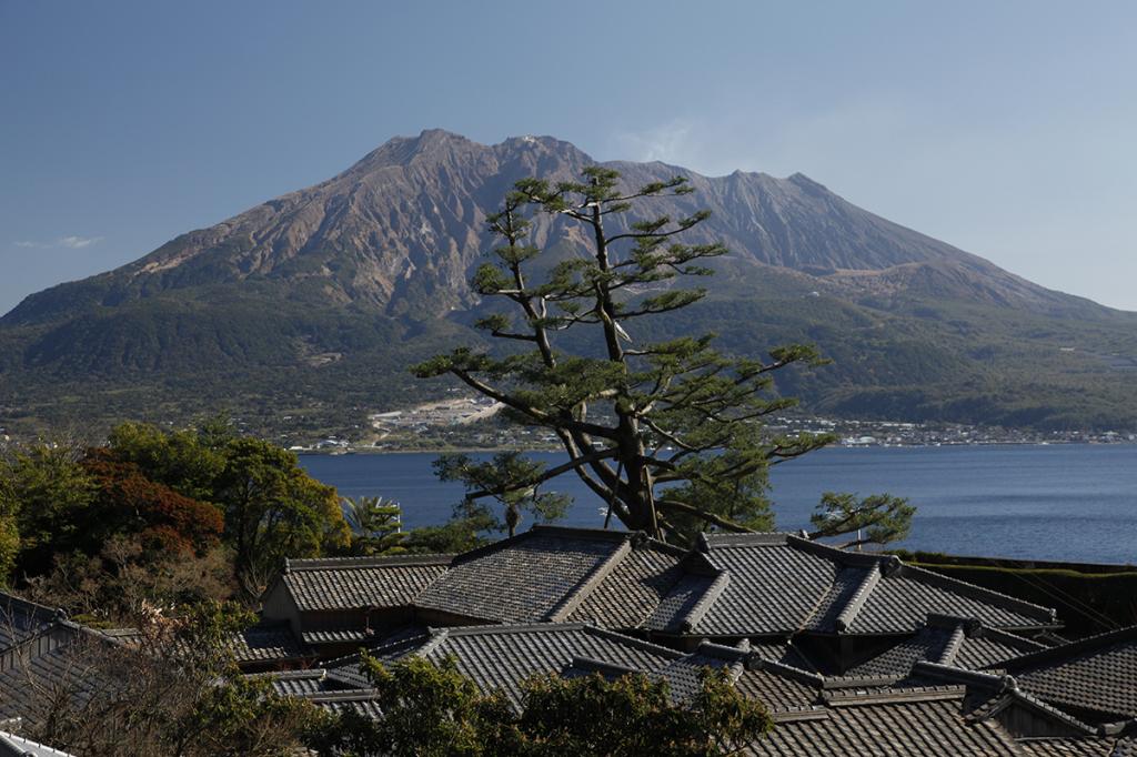 Volcan Sakurajima au Japon