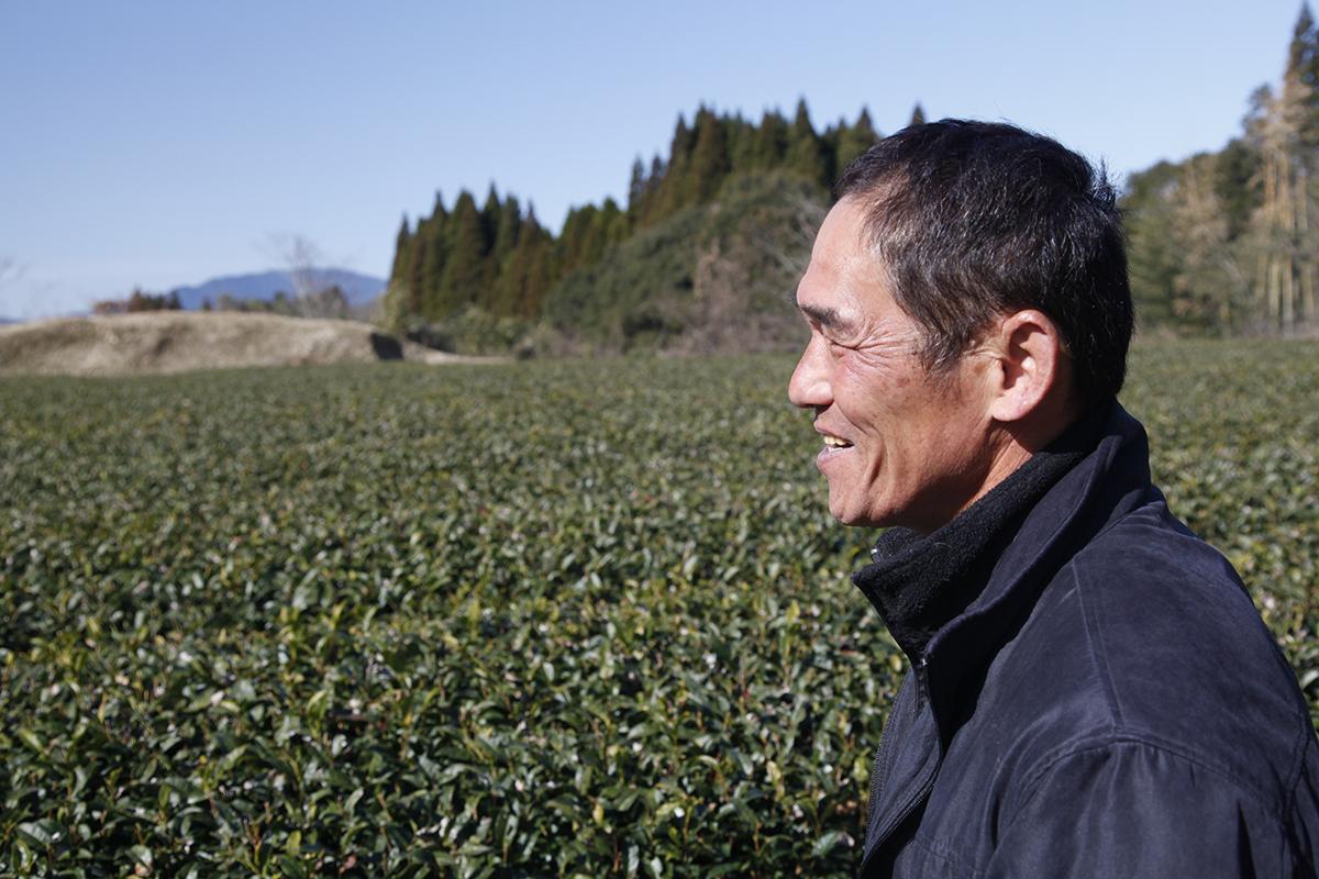 Monsieur Kumada, un fermier amoureux de sa terre
