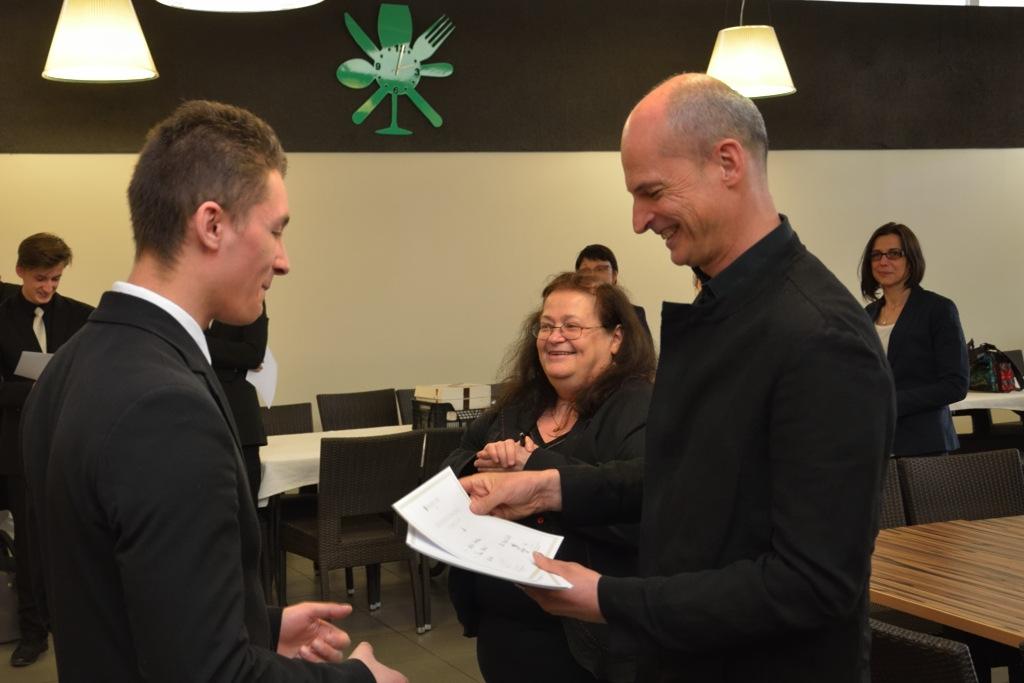 Remise de diplômes par François-Xavier Delmas