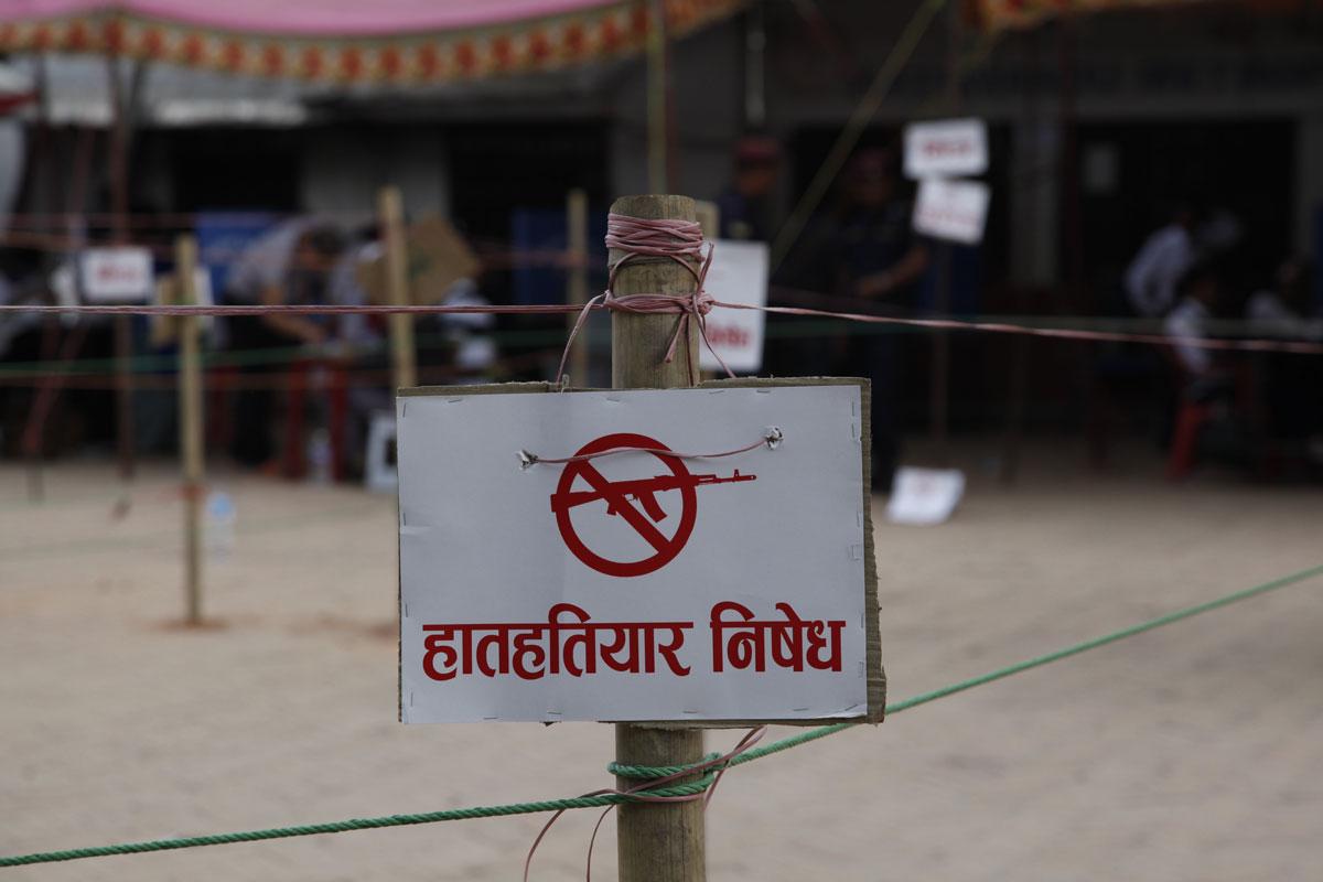 Au Népal, des mesures particulières les jours d'élection