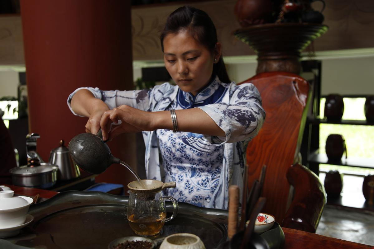 Du thé et du style