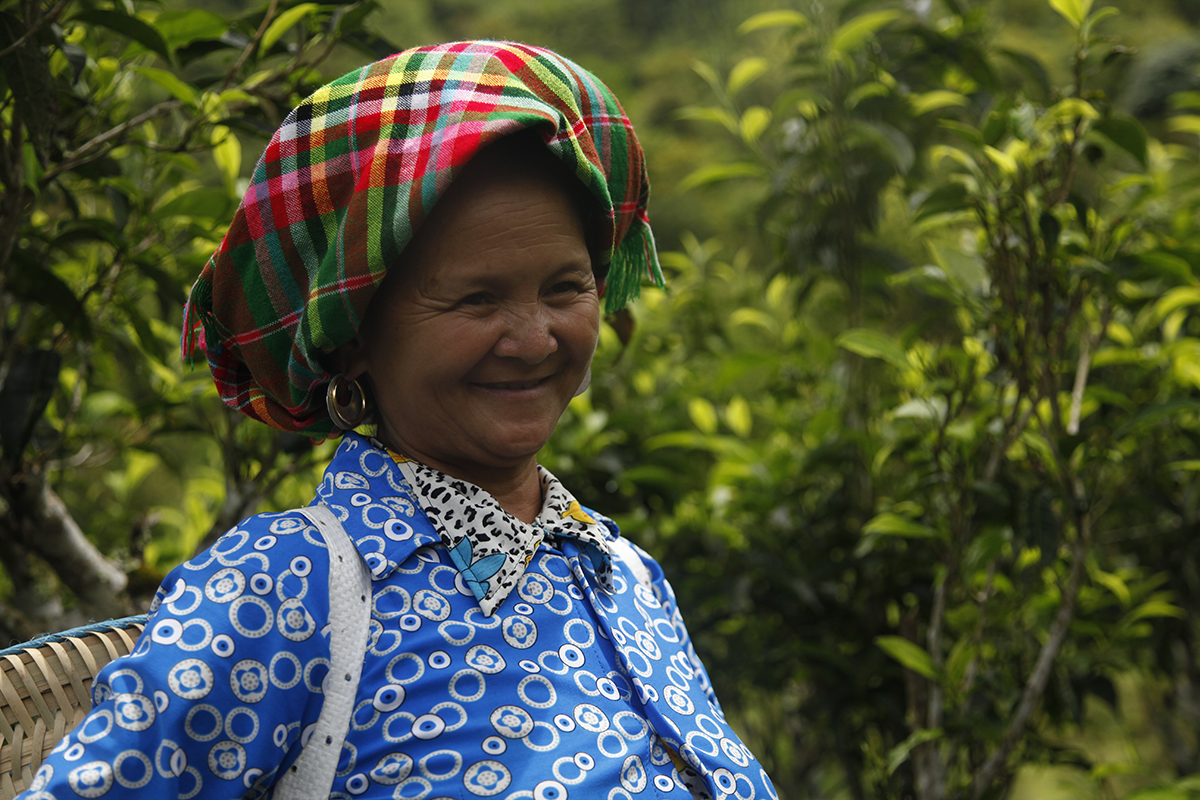 Une femme hmong