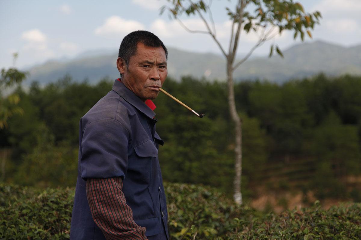 Monsieur Huang, un travailleur déplacé