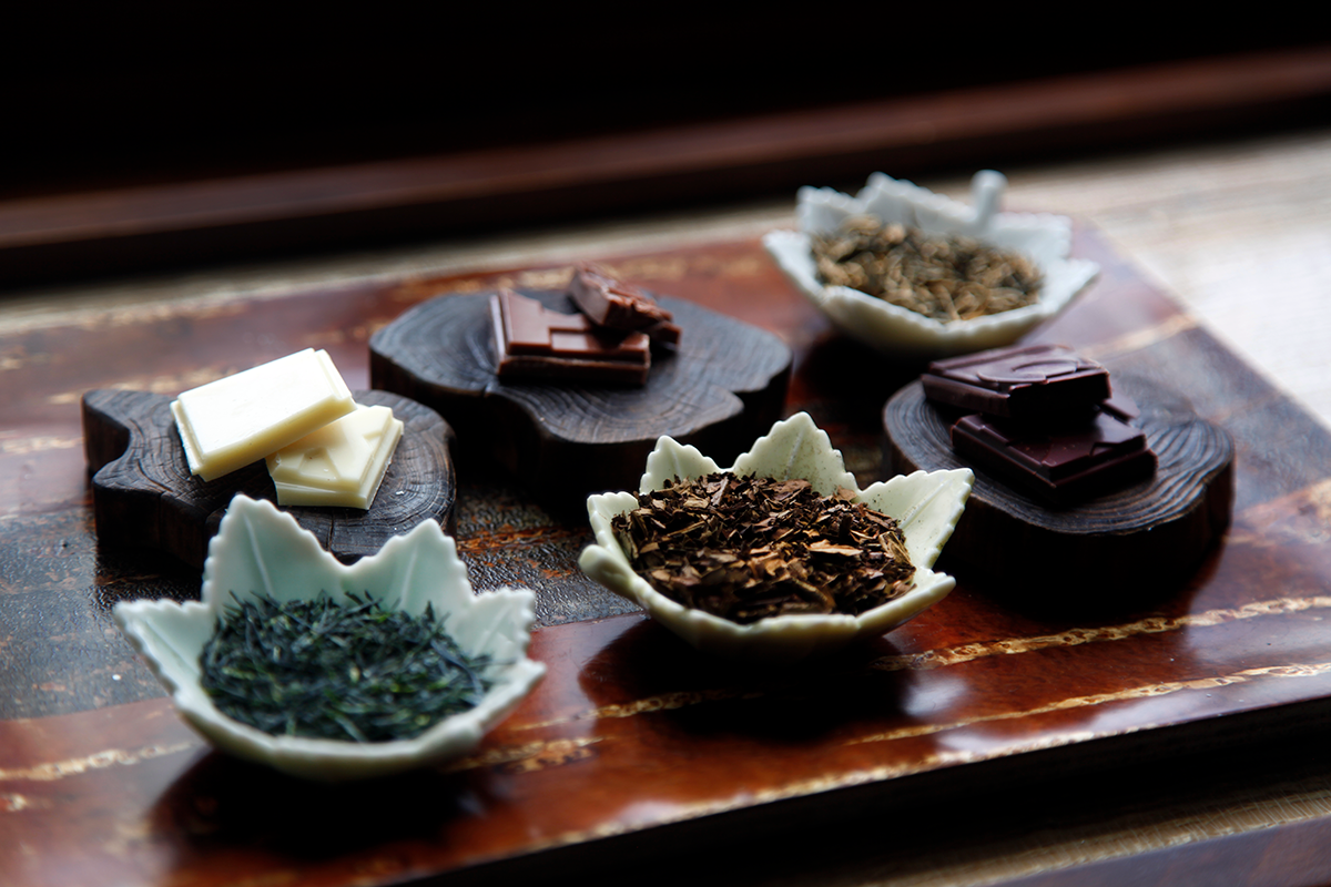 Le mariage du thé et du chocolat